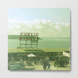 SEATTLE TRAVEL PHOTOGRAPHY Metal Print