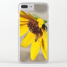 Desert Sunflower Pollen Shop Clear iPhone Case
