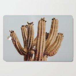 Cactus Boho Minimalist Photograph Cutting Board