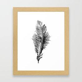 Free Falling Negative Framed Art Print