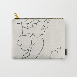 Vintage poster-Henri Matisse-Linear drawings-Mother & child. Carry-All Pouch
