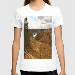 Thundering Waters Of The Yellowstone River T-shirt