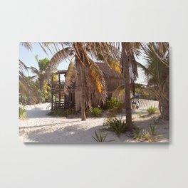 Paradise Beach Metal Print
