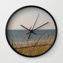 Beach Grass Wall Clock