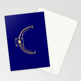 Sacred Geometry Letter C Stationery Cards