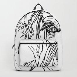 Tribal Horse Backpack