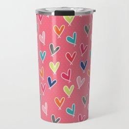 Blow Me One Last Kiss - Pink Travel Mug