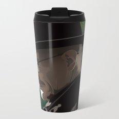 Breaking Bad Illustrated - Walter White Metal Travel Mug