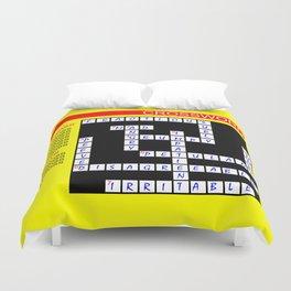 Crossword Duvet Cover