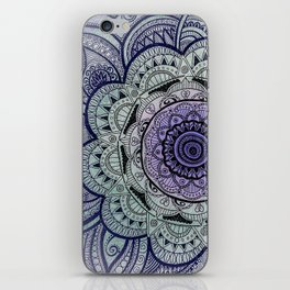 Mandala Violet iPhone Skin
