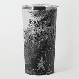 Colorless Ferns Travel Mug