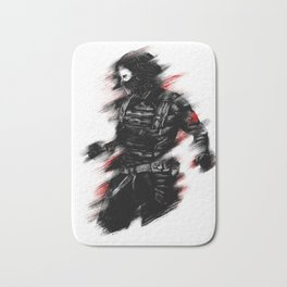 The Winter Soldier Bath Mat