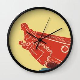 Moms Ahoy Wall Clock