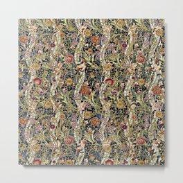 Wild Wild William Morris Variation I Metal Print