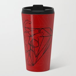 Heart Carbon Travel Mug