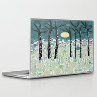 sandman Laptop & iPad Skins featuring :: Moonlight Kiss :: by :: GaleStorm Artworks ::