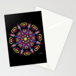 ¡Light blooming in mandala! Stationery Cards