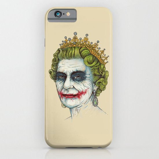 God Save the Villain! iPhone & iPod Case