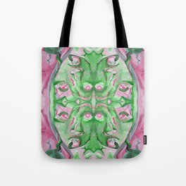 Found My Face In Space fractal version 2 Tote Bag