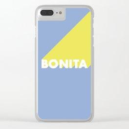 BONITA Blue Clear iPhone Case