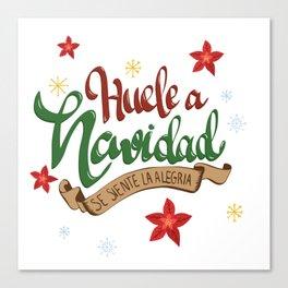 Navidad venezolana gaita chistmash song Canvas Print