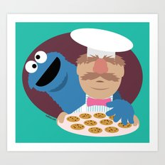 Cookie temptation Art Print