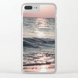 Beach Print, Sea Photo, Modern print, Beach Coastal Decor, Ocean, Beach Photo Clear iPhone Case