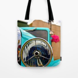 Headlight Americana Tote Bag