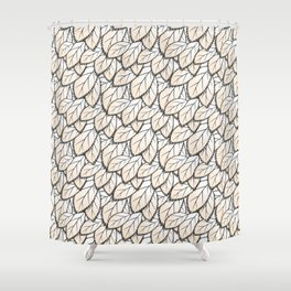 Leaves 2 Shower Curtain