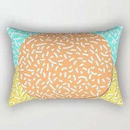 Memphis Sun Rectangular Pillow