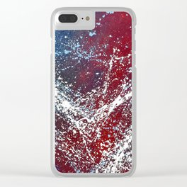 Spangled Clear iPhone Case