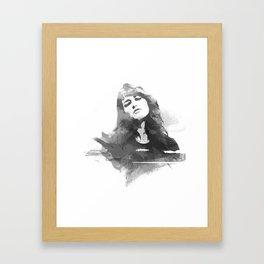 Martha Argerich Framed Art Print