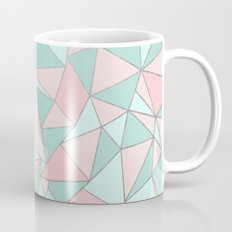 Ab Out Mint and Blush Coffee Mug