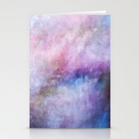 cosmos Stationery Cards featuring Cosmos by Angela Fanton