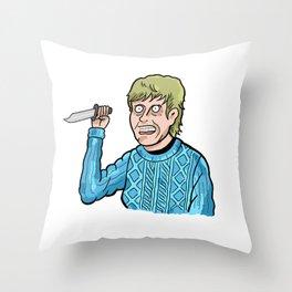 Pamela Voorhees Throw Pillow