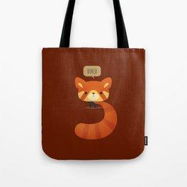 Little Furry Friends - Red Panda Tote Bag
