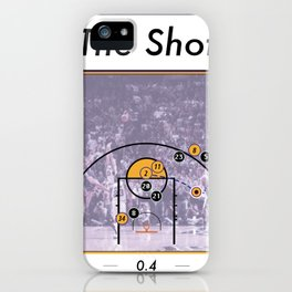 The Shot Series, Derek Fisher iPhone Case