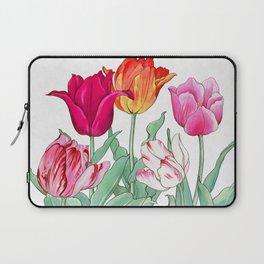 Tulips garden Laptop Sleeve