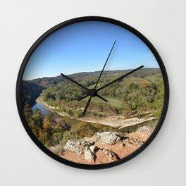 Sparrowhawk Mountain Series, No. 15 Wall Clock