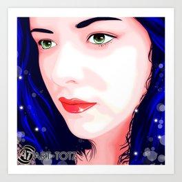 Carmen Mi Amor Art Print
