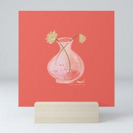 Ghost Vase Mini Art Print