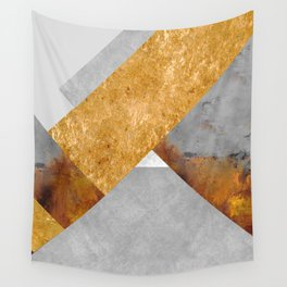 Modern Mountain No6-P3 Wall Tapestry