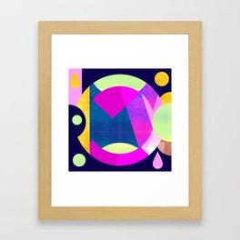 Abstractions No. 5: Pyramid Framed Art Print