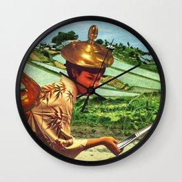 Pain-tea-ly Wall Clock
