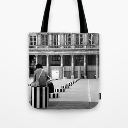 Full speed ahead into the wall Tote Bag
