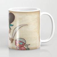 sword Mugs featuring Parrot's Sword by tsai-fi