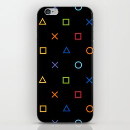 Colofrul Gamer iPhone Skin