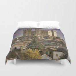 Portugal, Penedono Castle in the Douro region Duvet Cover