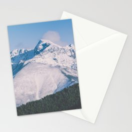 Snow Capped Peaks Stationery Cards