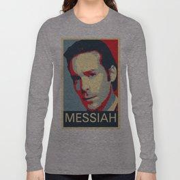 Baltar 'Messiah' design. Inspired by Battlestar Galactica. Long Sleeve T-shirt
